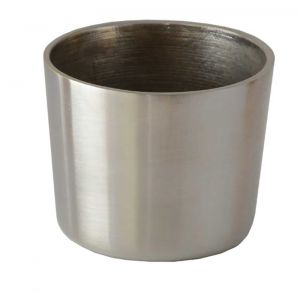 Cezanne Brushed Nickel Leg Cup