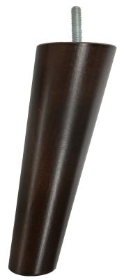 Isla Dark Brown Angled Accent Furniture Legs